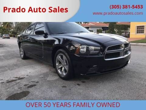2013 Dodge Charger for sale at Prado Auto Sales in Miami FL
