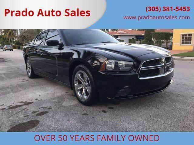 2013 Dodge Charger for sale at Prado Auto Sales in Miami FL