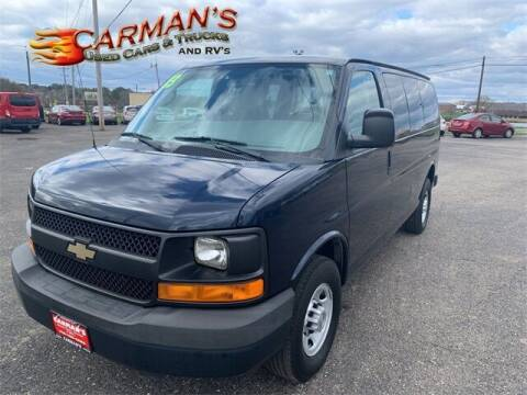 2013 Chevrolet Express Passenger for sale at Carmans Used Cars & Trucks in Jackson OH