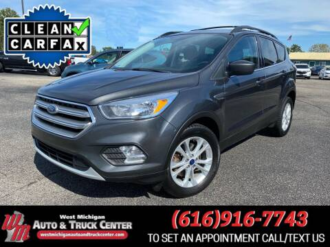 2017 Ford Escape for sale at West Michigan Auto and Truck Center in Cedar Springs MI