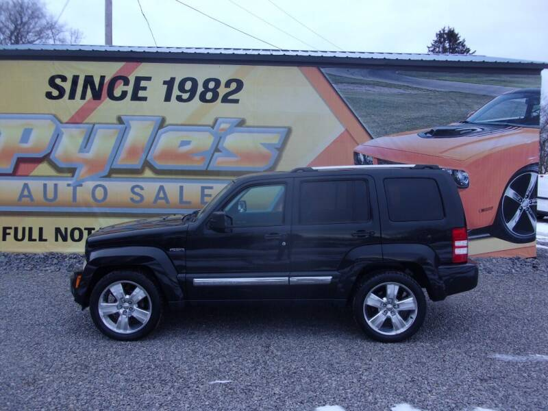 2012 Jeep Liberty for sale at Pyles Auto Sales in Kittanning PA