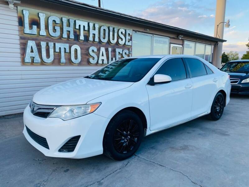 2013 Toyota Camry for sale at Lighthouse Auto Sales LLC in Grand Junction CO