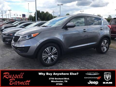 2016 Kia Sportage for sale at Russell Barnett Chrysler Dodge Jeep Ram in Winchester TN