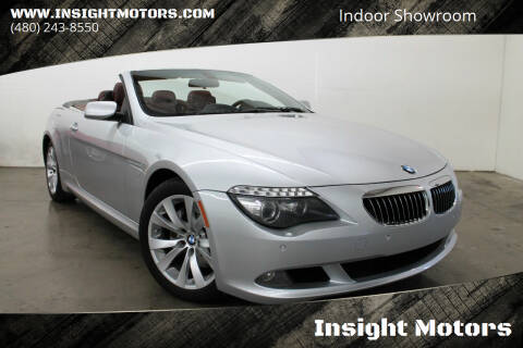 2008 BMW 6 Series for sale at Insight Motors in Tempe AZ