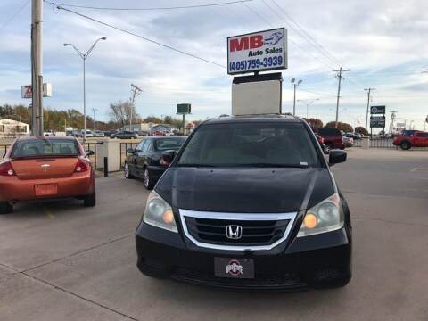 2008 Honda Odyssey for sale at MB Auto Sales in Oklahoma City OK