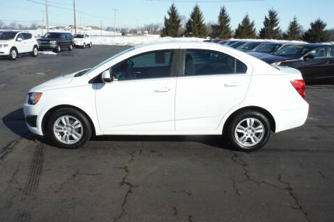 2014 Chevrolet Sonic for sale at Bryan Auto Depot in Bryan OH