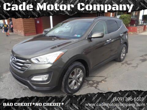 2014 Hyundai Santa Fe Sport for sale at Cade Motor Company in Lawrence Township NJ