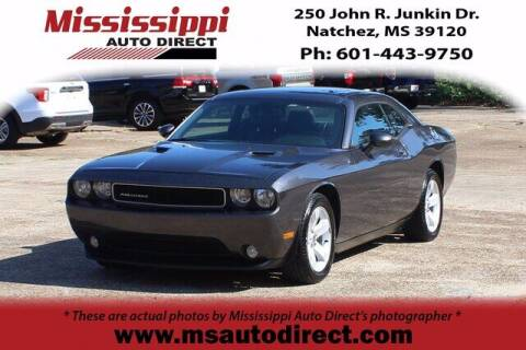 2013 Dodge Challenger for sale at Auto Group South - Mississippi Auto Direct in Natchez MS