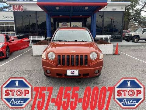 2008 Jeep Compass for sale at 1 Stop Auto in Norfolk VA