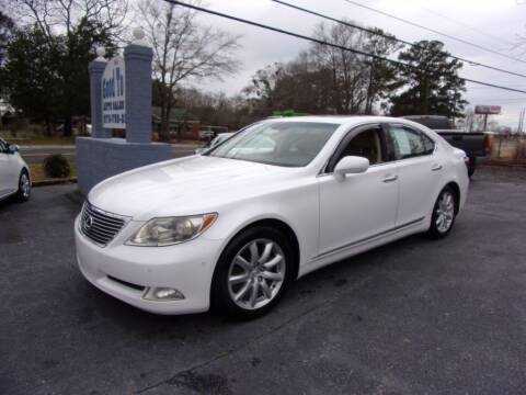2007 Lexus LS 460 for sale at Good To Go Auto Sales in Mcdonough GA