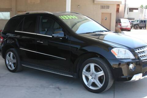 2011 Mercedes-Benz M-Class for sale at Carzz Motor Sports in Fountain Hills AZ