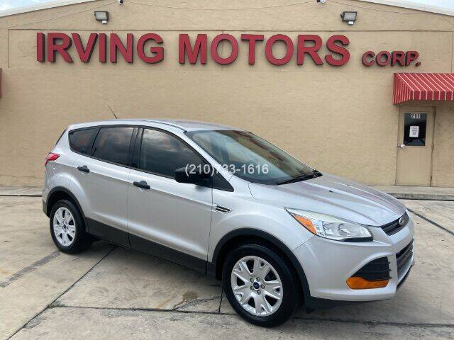 2016 Ford Escape for sale at Irving Motors Corp in San Antonio TX