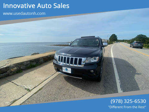 2013 Jeep Grand Cherokee for sale at Innovative Auto Sales in North Hampton NH