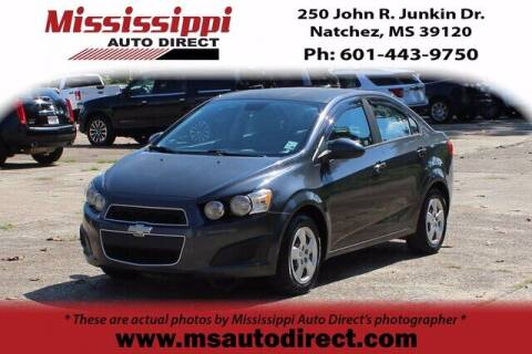 2013 Chevrolet Sonic for sale at Auto Group South - Mississippi Auto Direct in Natchez MS