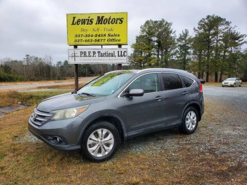 2013 Honda CR-V for sale at Lewis Motors LLC in Deridder LA