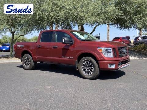 2018 Nissan Titan for sale at Sands Chevrolet in Surprise AZ