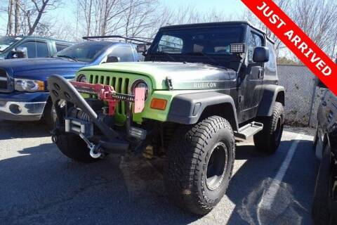 2004 Jeep Wrangler for sale at Brandon Reeves Auto World in Monroe NC