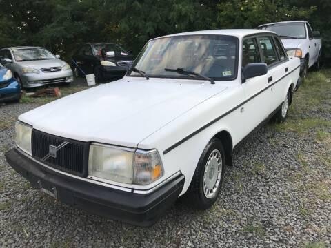 1992 Volvo 240 for sale at A & B Auto Finance Company in Alexandria VA