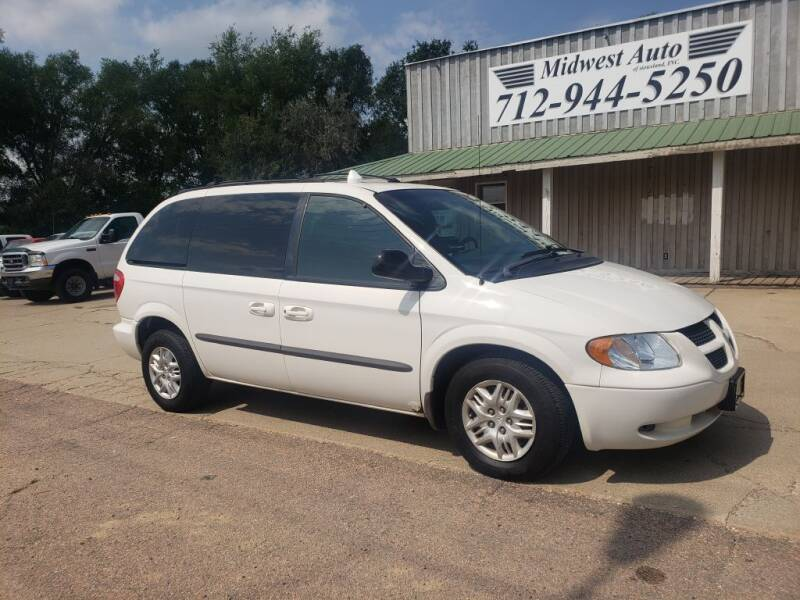 2002 Dodge Caravan for sale at Midwest Auto of Siouxland, INC in Lawton IA