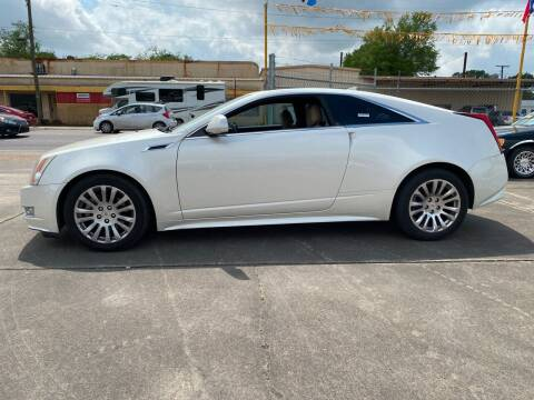 2011 Cadillac CTS for sale at Bobby Lafleur Auto Sales in Lake Charles LA