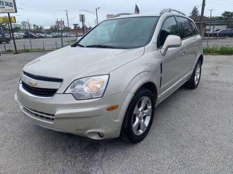 2014 Chevrolet Captiva Sport for sale at Honest Abe Auto Sales 2 in Indianapolis IN