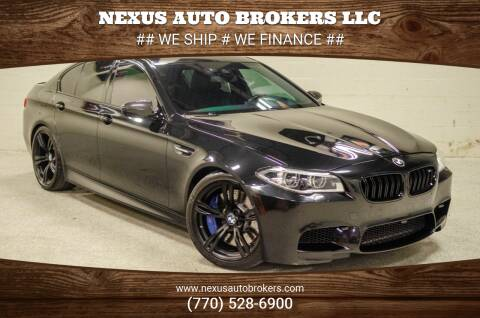 2016 BMW M5 for sale at Nexus Auto Brokers LLC in Marietta GA