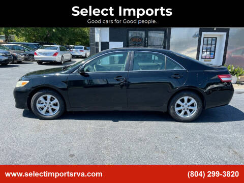 2011 Toyota Camry for sale at Select Imports in Ashland VA