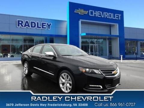 2019 Chevrolet Impala for sale at Radley Cadillac in Fredericksburg VA