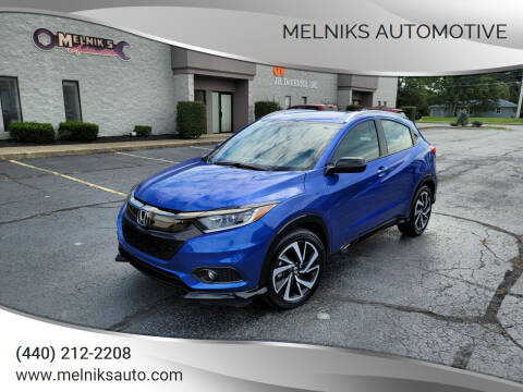 2019 Honda HR-V for sale at Melniks Automotive in Berea OH