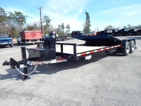 2021 TEXAS PRIDE 24' Tilt Lowboy for sale at Montgomery Trailer Sales - Texas Pride in Conroe TX