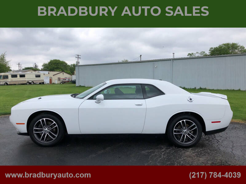 2019 Dodge Challenger for sale at BRADBURY AUTO SALES in Gibson City IL