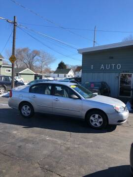 2005 Chevrolet Malibu for sale at SHEFFIELD MOTORS INC in Kenosha WI