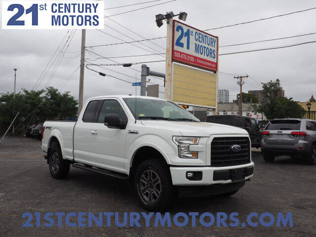 2017 Ford F-150 for sale at 21st Century Motors in Fall River MA