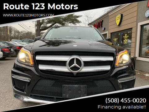 2015 Mercedes-Benz GL-Class for sale at Route 123 Motors in Norton MA