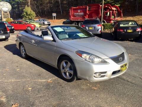 2008 Toyota Camry Solara for sale at Bladecki Auto in Belmont NH