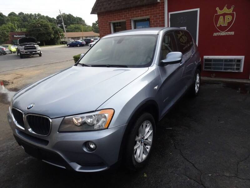 2013 BMW X3 for sale at AP Automotive in Cary NC