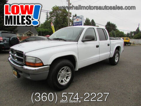 2004 Dodge Dakota for sale at Hall Motors LLC in Vancouver WA