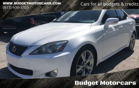 2010 Lexus IS 250 for sale at Budget Motorcars in Tampa FL