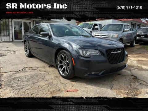2015 Chrysler 300 for sale at SR Motors Inc in Gainesville GA