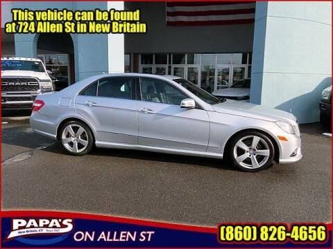 2010 Mercedes-Benz E-Class for sale at Papas Chrysler Dodge Jeep Ram in New Britain CT