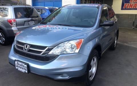 2010 Honda CR-V for sale at DEALS ON WHEELS in Newark NJ