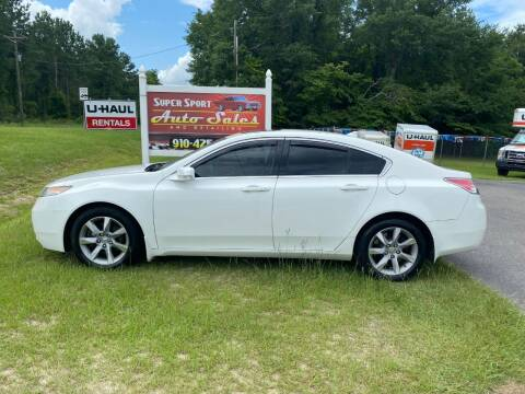 2012 Acura TL for sale at Super Sport Auto Sales in Hope Mills NC