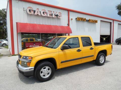 2006 Chevrolet Colorado for sale at Gagel's Auto Sales in Gibsonton FL