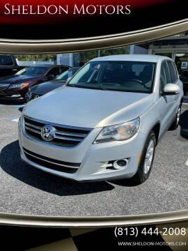 2010 Volkswagen Tiguan for sale at Sheldon Motors in Tampa FL
