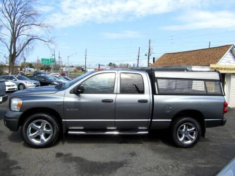 2008 Dodge Ram Pickup 1500 for sale at American Auto Group Now in Maple Shade NJ