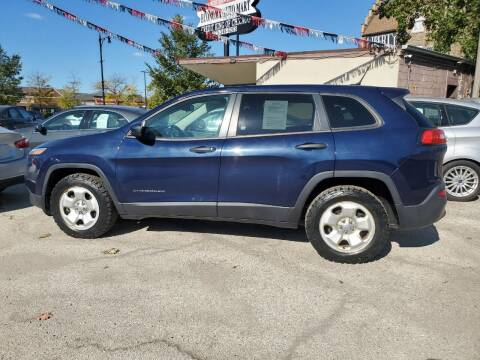2014 Jeep Cherokee for sale at ECONOMY AUTO MART in Chicago IL