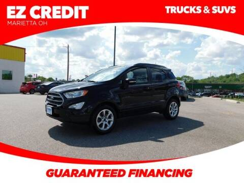 2018 Ford EcoSport for sale at Pioneer Family preowned autos in Williamstown WV