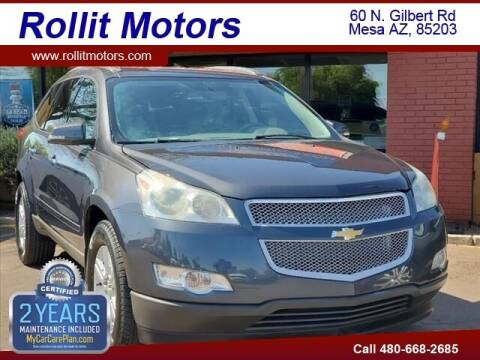 2012 Chevrolet Traverse for sale at Rollit Motors in Mesa AZ