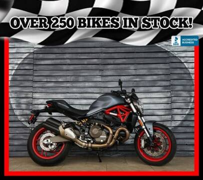 2017 Ducati Monster 821 for sale at AZautorv.com in Mesa AZ