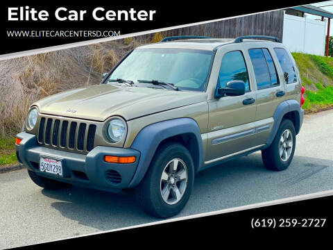 2004 Jeep Liberty for sale at Elite Car Center in Spring Valley CA